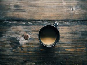 数日たった後のセーターについたコーヒーの染み抜き!