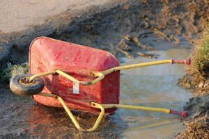 泥汚れ後に時間がたった場合の洗濯方法は?