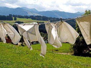 シーツにカビが生えた場合の洗濯方法